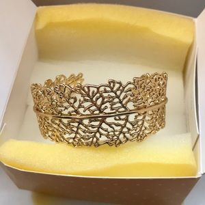 Gold Stella & Dot Grace Cuff